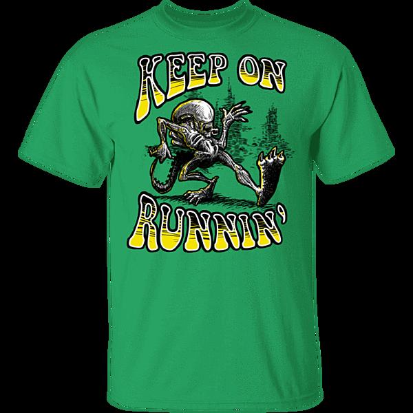 Pop-Up Tee: Keep on Runnin