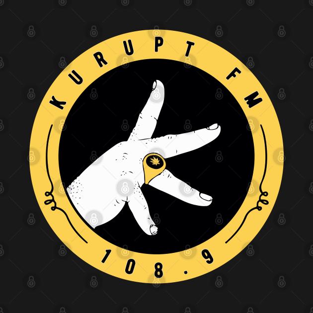TeePublic: KURUPTFM, KURUPT FM 108.9