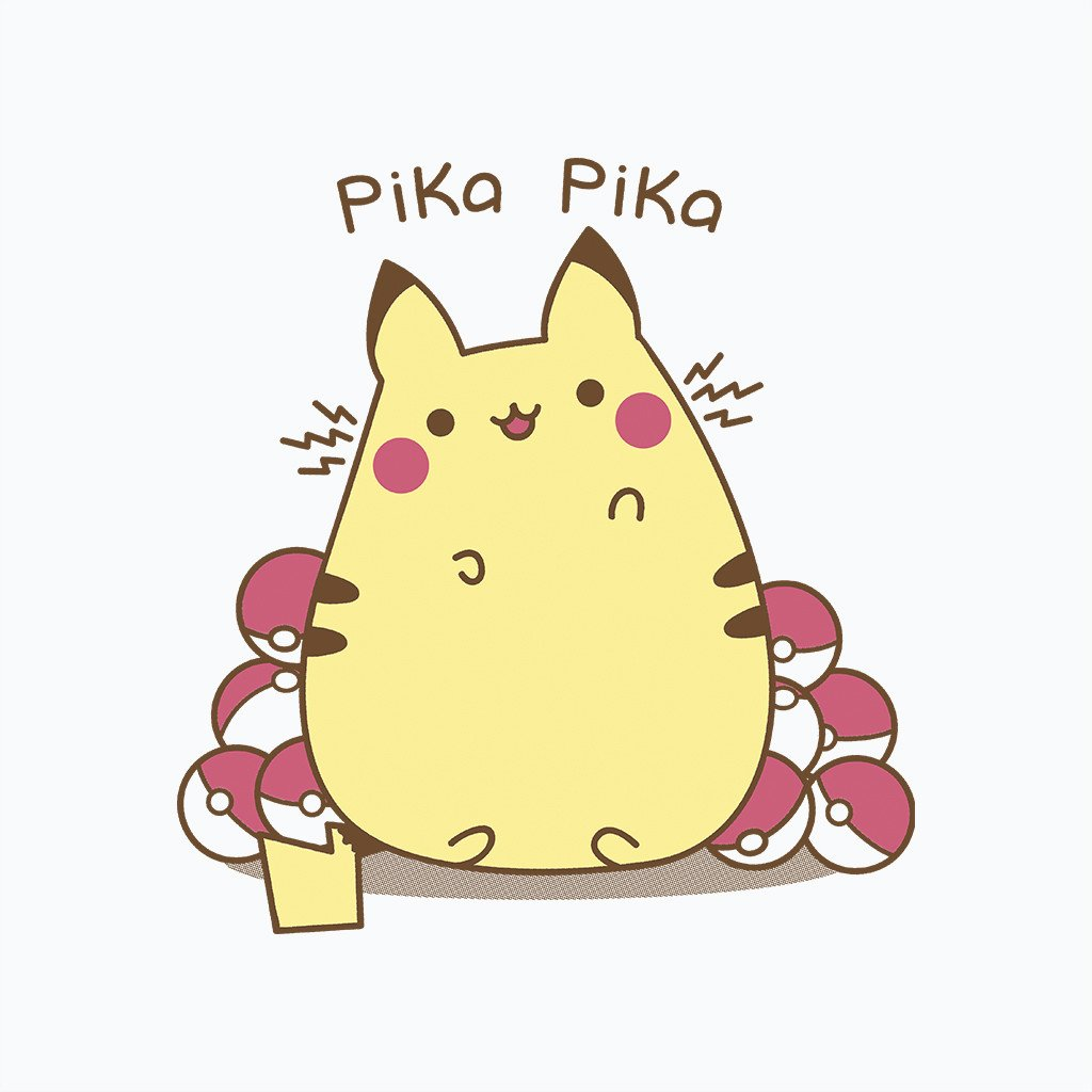 Pop-Up Tee: Pika Pika