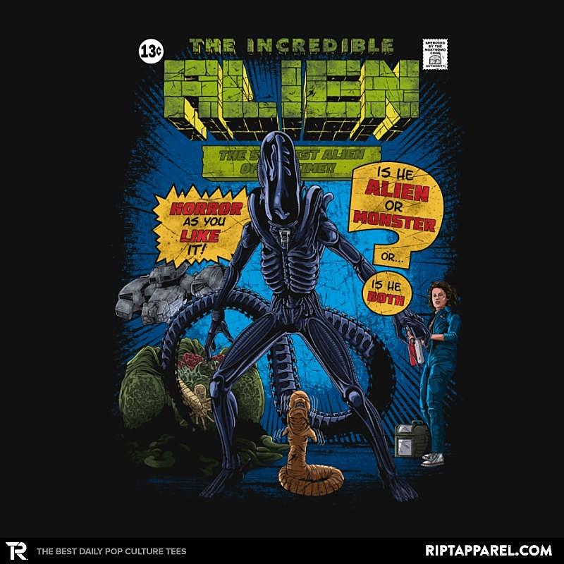 Ript: The Incredible Alien