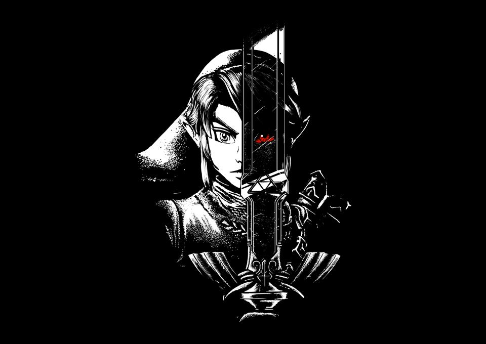TeeFury: A Hero's Dark Reflection