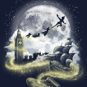 Qwertee: Pixie dust road
