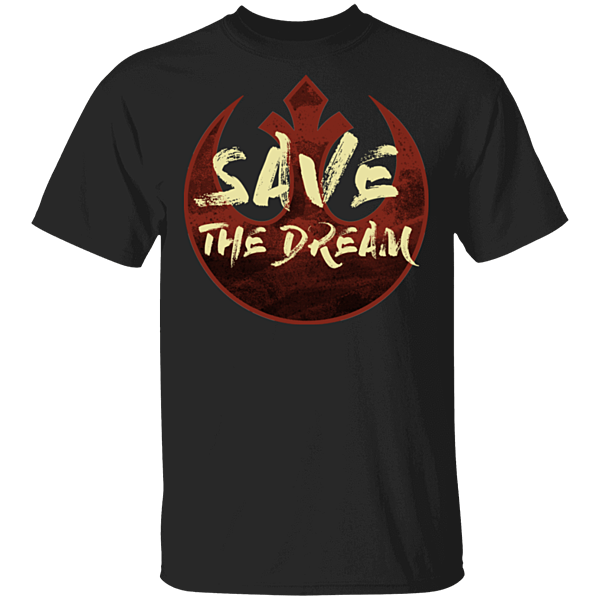 Pop-Up Tee: Save The Dream