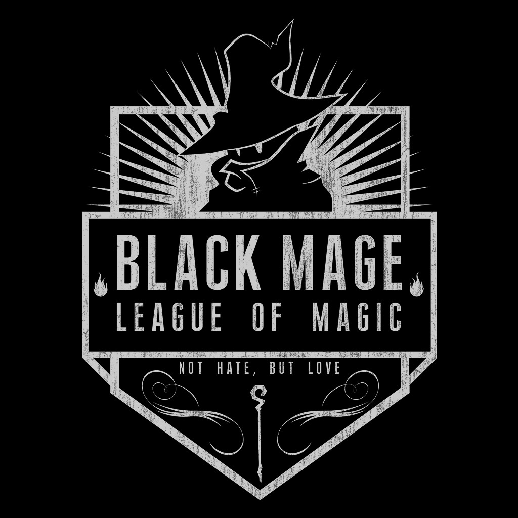 Pop-Up Tee: Black Mage