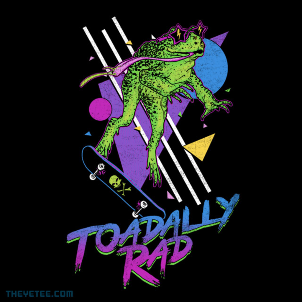 The Yetee: Toadally Rad