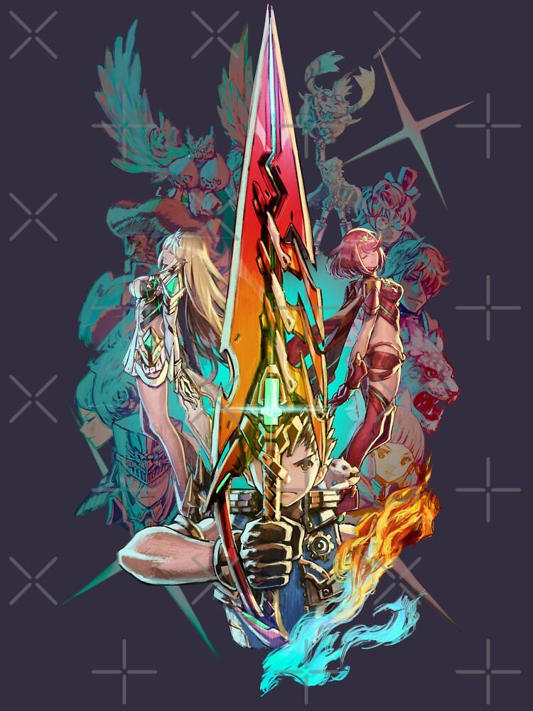 RedBubble: Xenoblade Chronicles™ 2 - Team