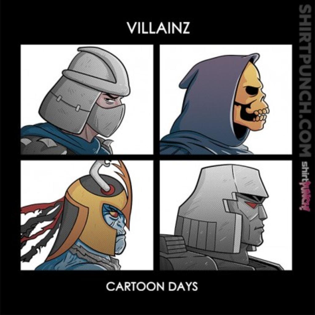 ShirtPunch: Villainz