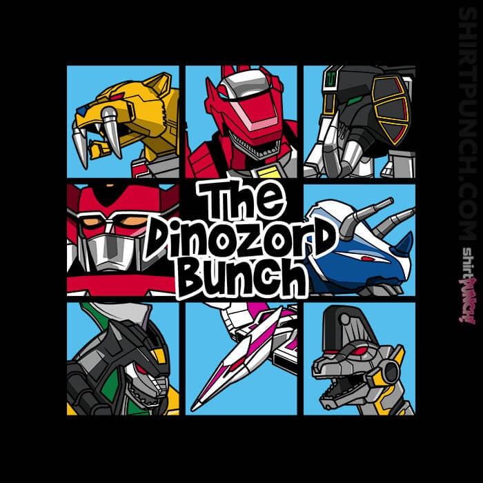 ShirtPunch: The Dinozord Bunch