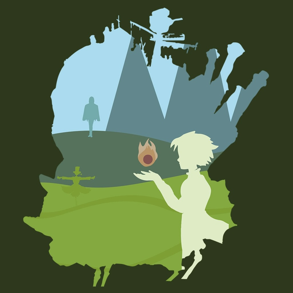 TeeTournament: HOWL'S MOVING CASTLE