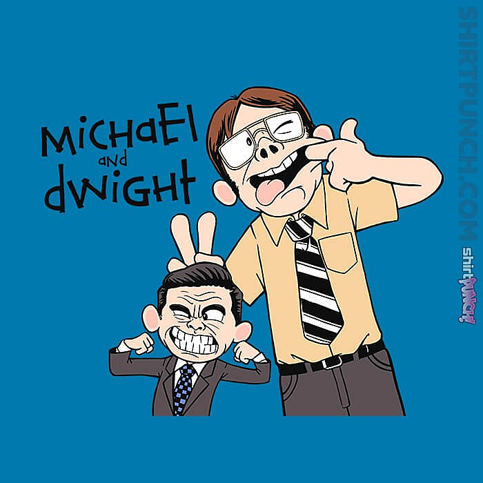 ShirtPunch: Regional Manager And His Assistant