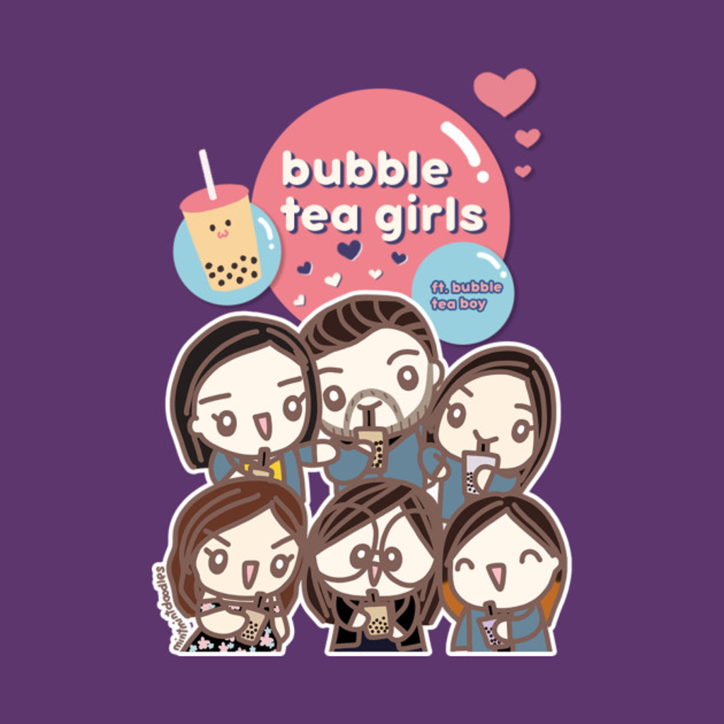 TeePublic: Bubble Tea ft. Michellememeit