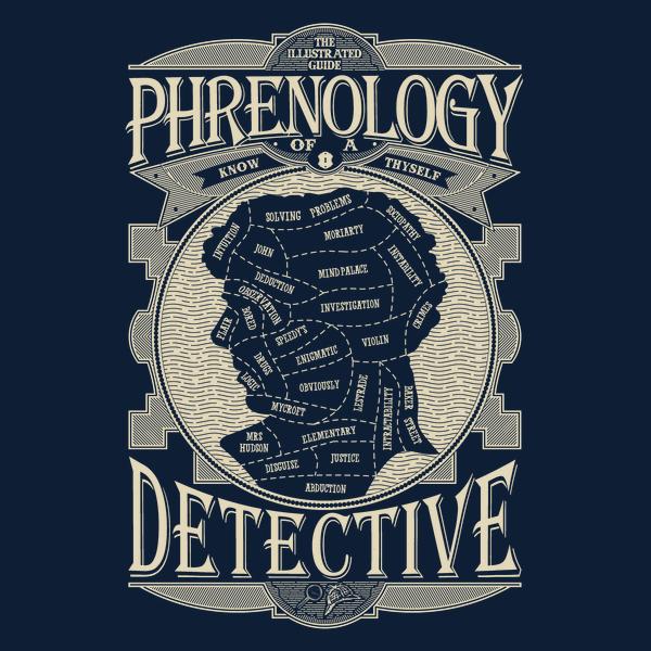 NeatoShop: Phrenology of a detective-Sherlock