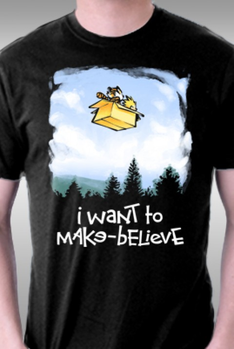 ecf5bec16 I Want To Make-Believe from TeeFury | Day of the Shirt