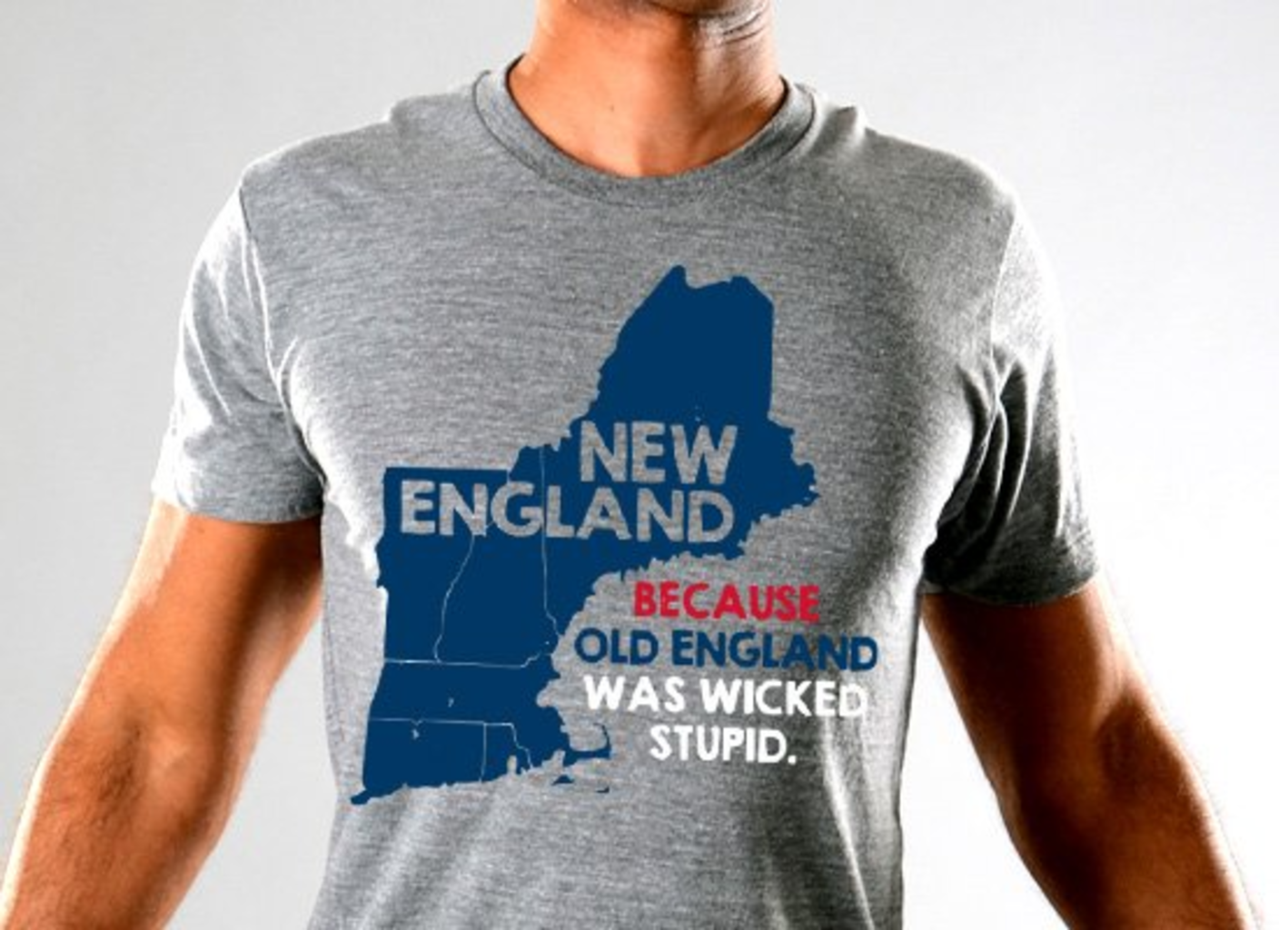 SnorgTees: New England Limited Edition Tri-Blend