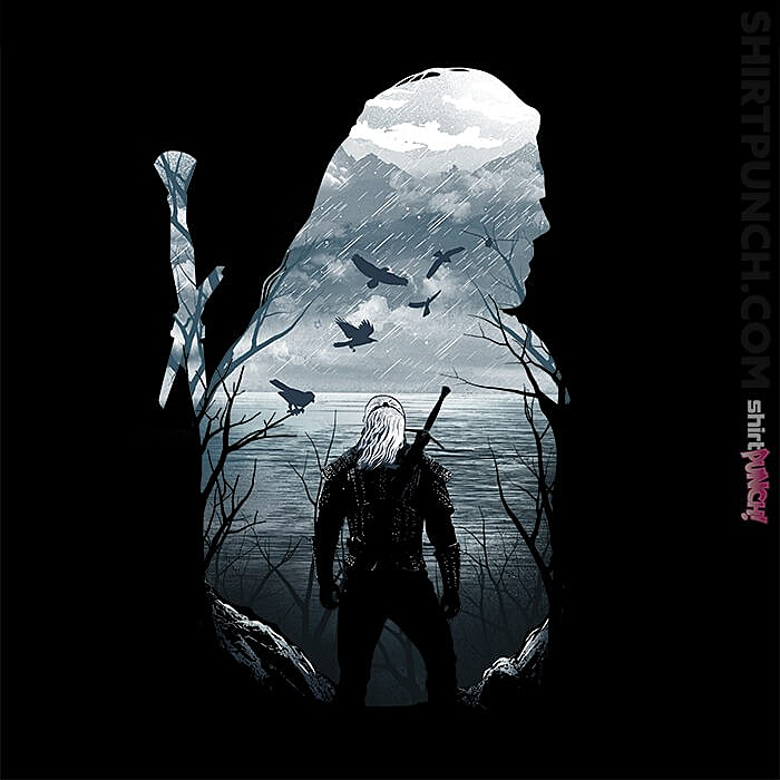 ShirtPunch: Geralt