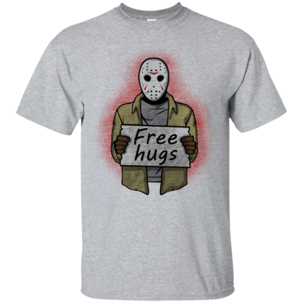 Pop-Up Tee: Free Hugs Jason