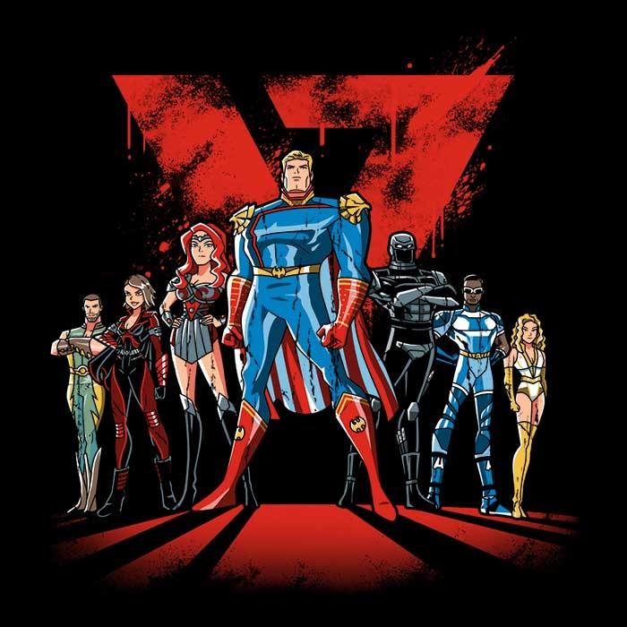 Once Upon a Tee: Supes League Issue 2