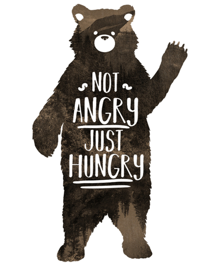 Qwertee: Just hungry