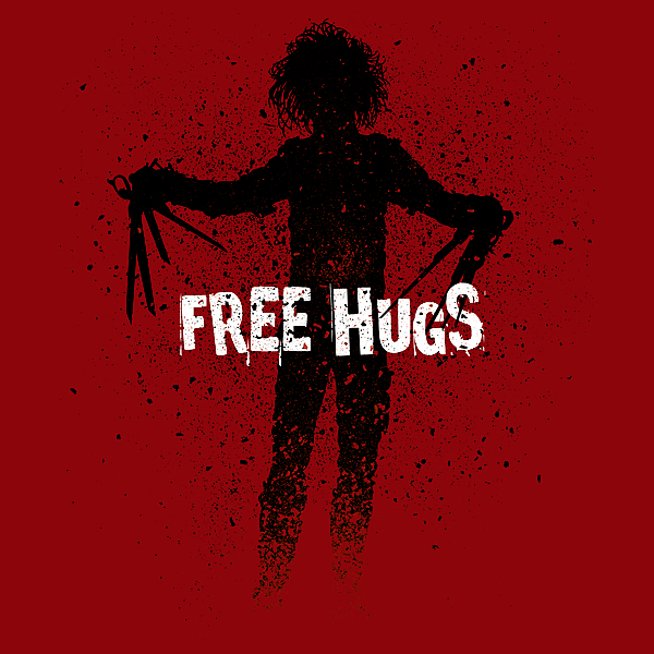 NeatoShop: Scissorhands Free hugs