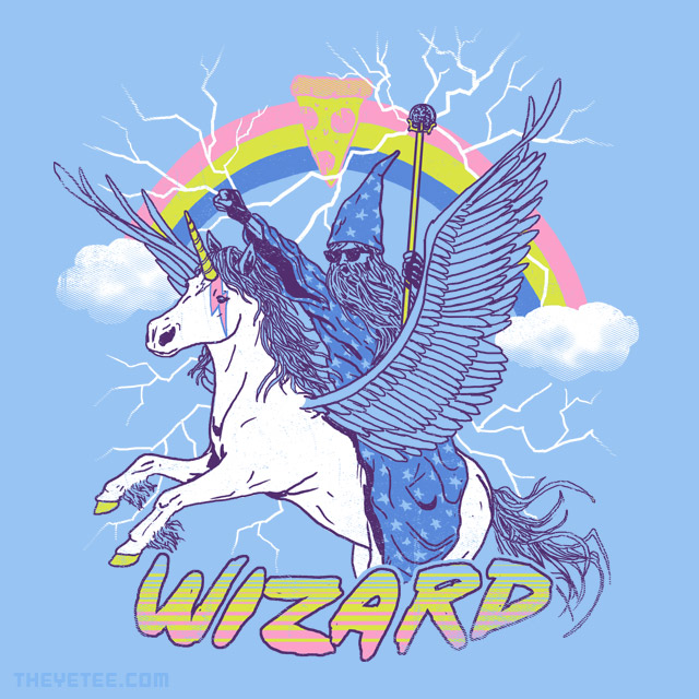 The Yetee: Pizza Wizard
