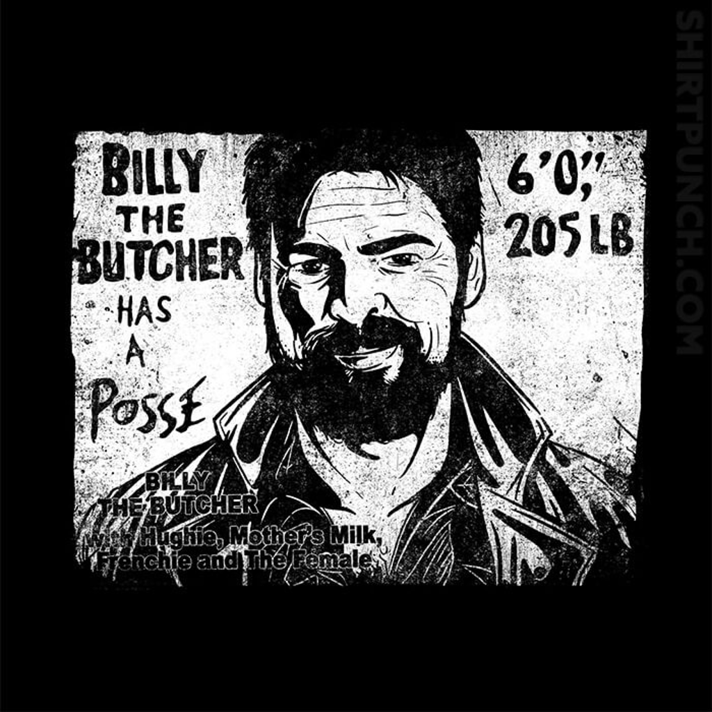 ShirtPunch: Butcher's Posse