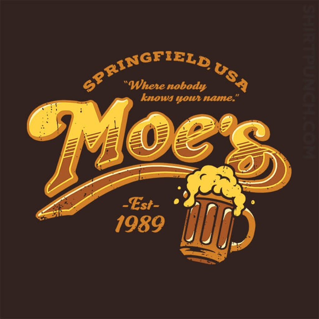 ShirtPunch: Moe's Deal