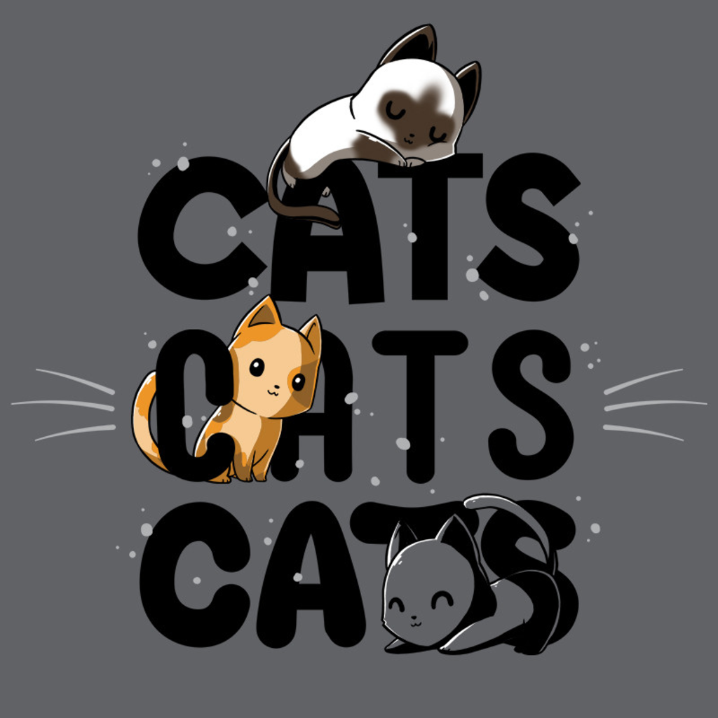 TeeTurtle: Cats Cats Cats