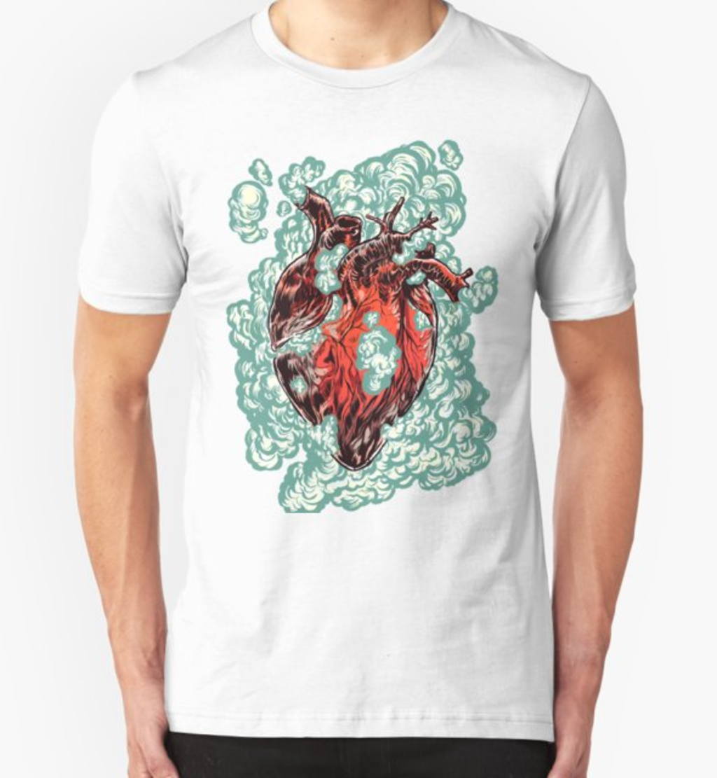 RedBubble: Heart Explosion