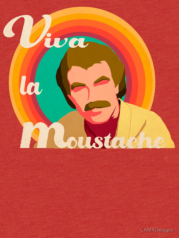 RedBubble: Long live the mustache