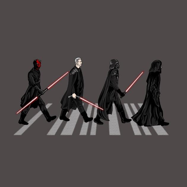 TeeTee: Sith on Abbey road