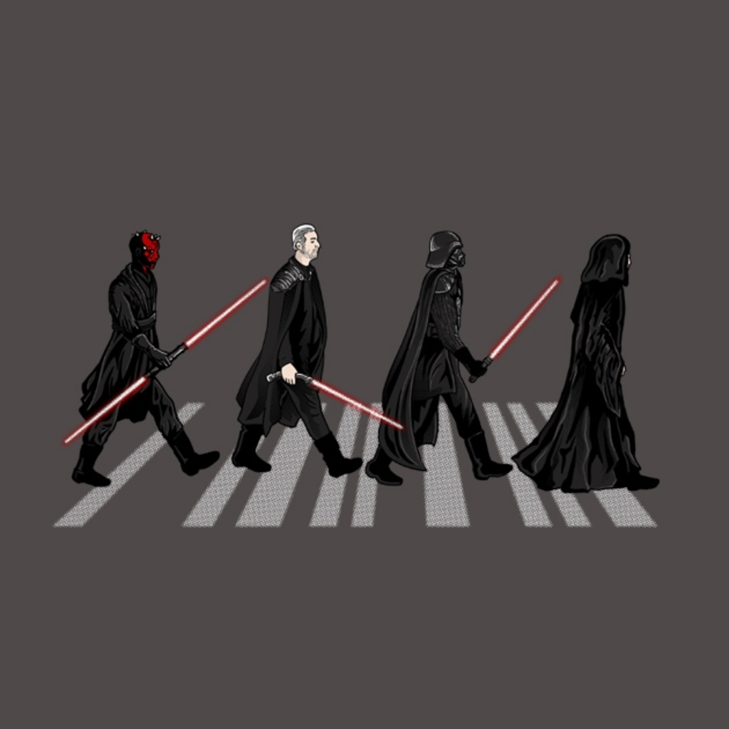 TeeTee: Sith on Abbey road