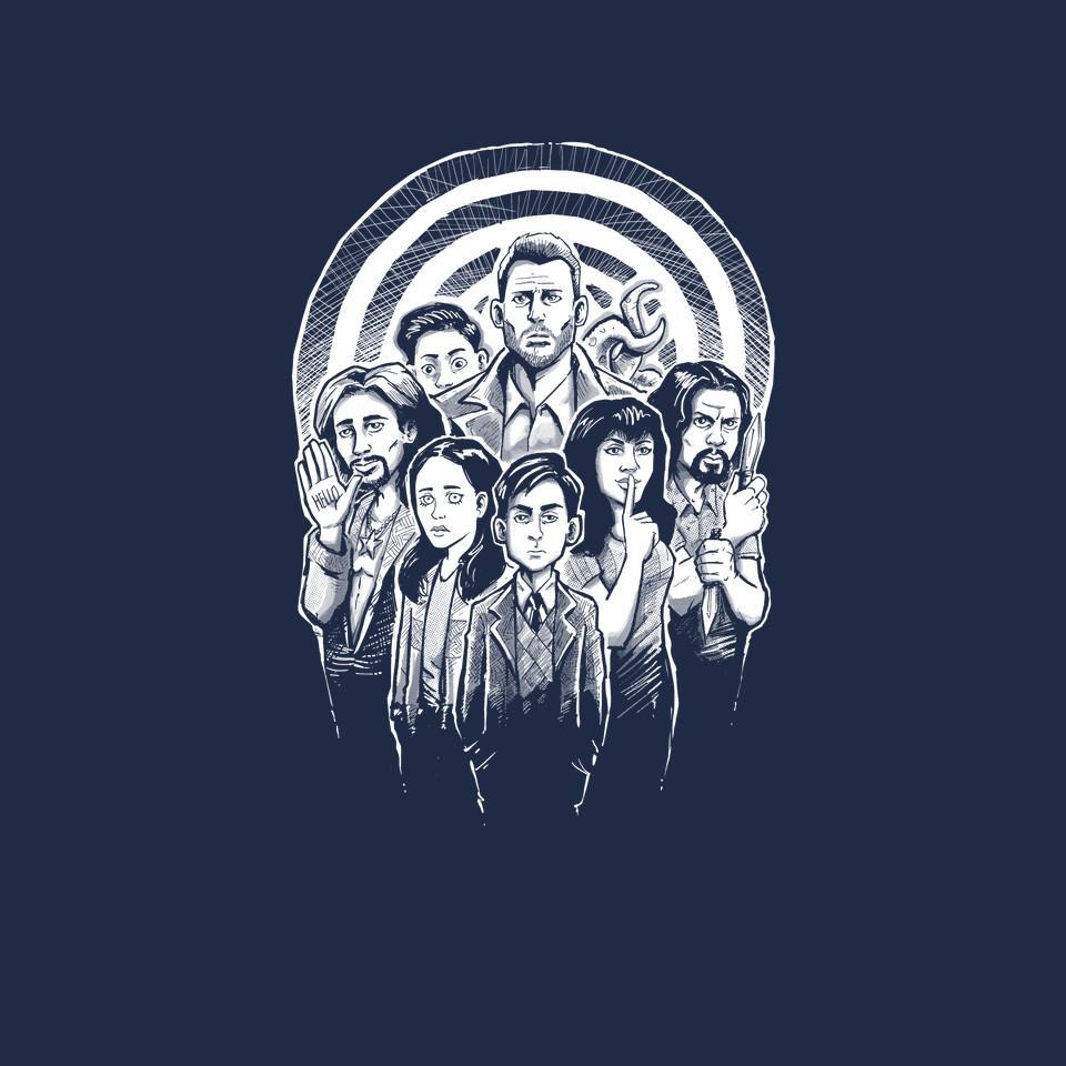 TeeFury: Weird Family