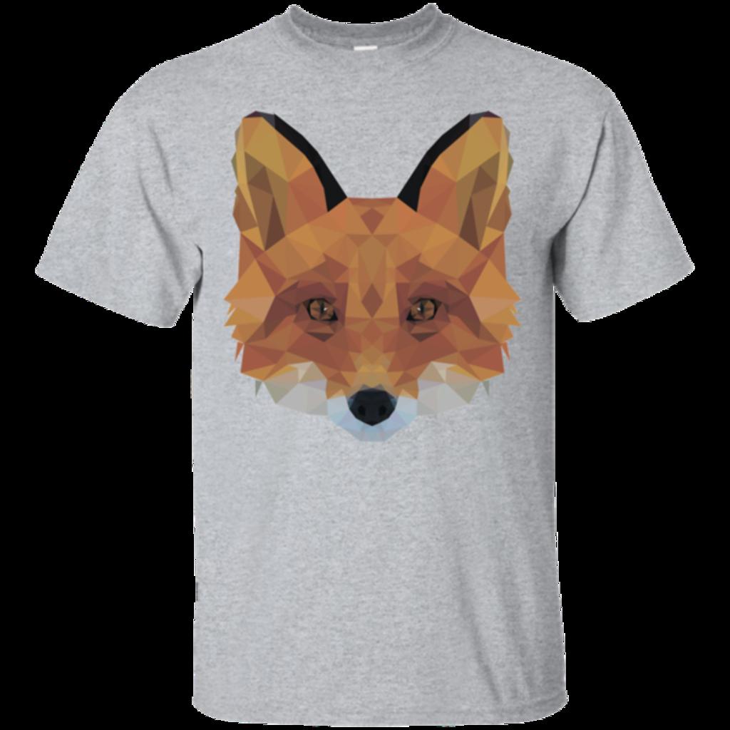 Pop-Up Tee: Fox Portrait