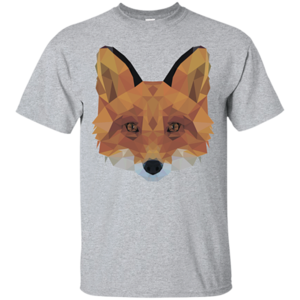 Pop-Up Tee: Fox Portrait