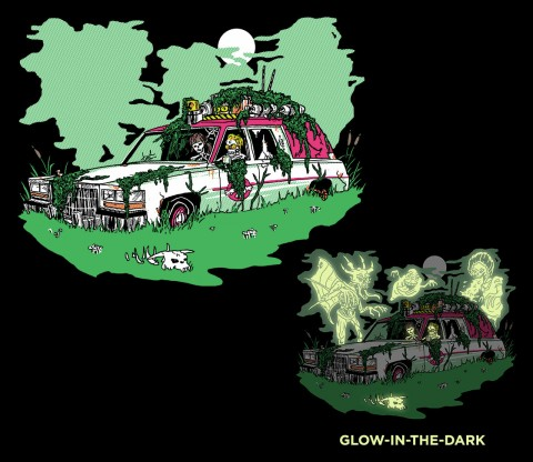 TeeFury: Haunted Old Hearse