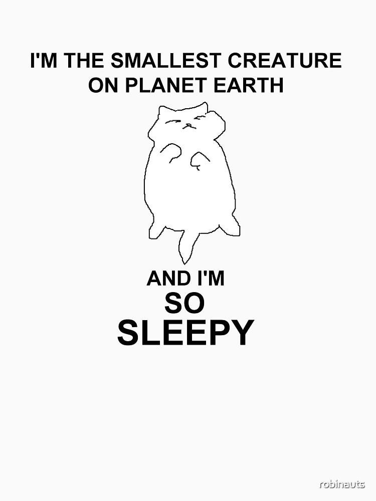 RedBubble: so sleepy