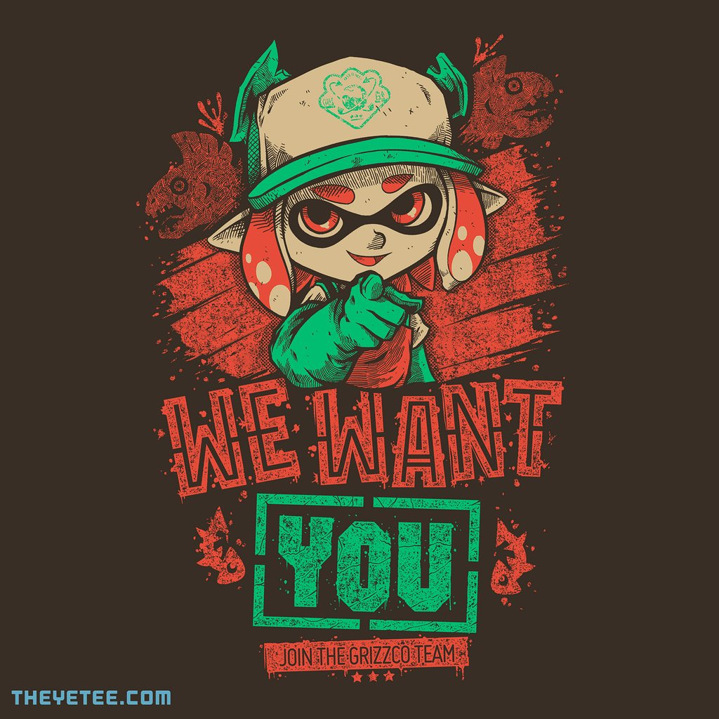 The Yetee: We Want You!