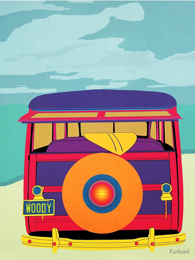 RedBubble: Woody at the Beach 1