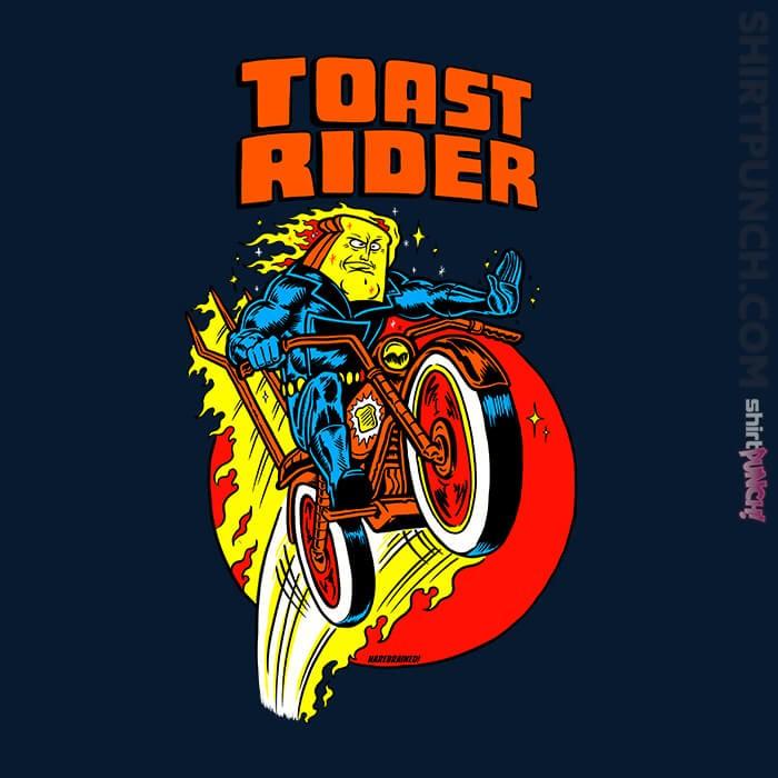ShirtPunch: Toast Rider