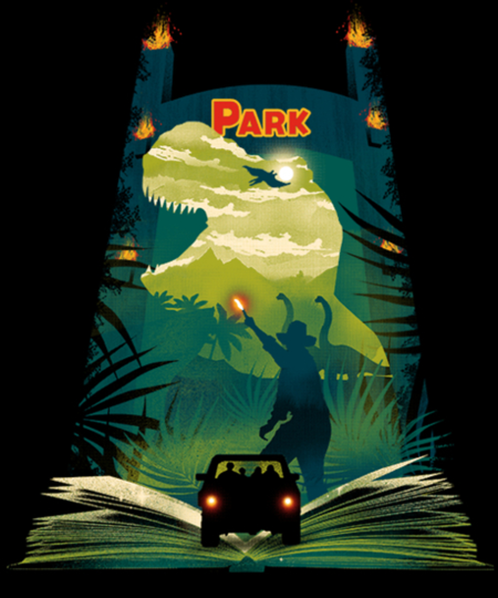 Qwertee: Book of Dinosaurs and Adventure