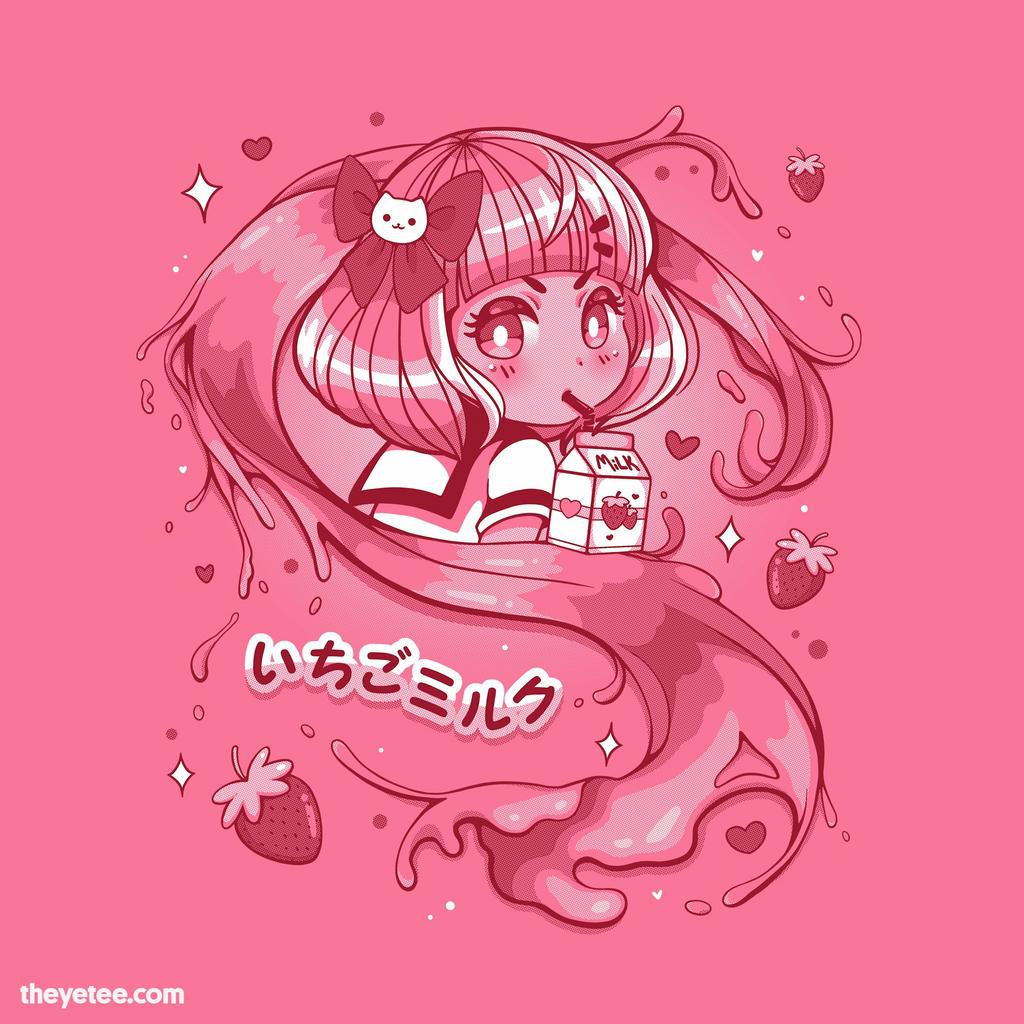 The Yetee: Strawberry Milk
