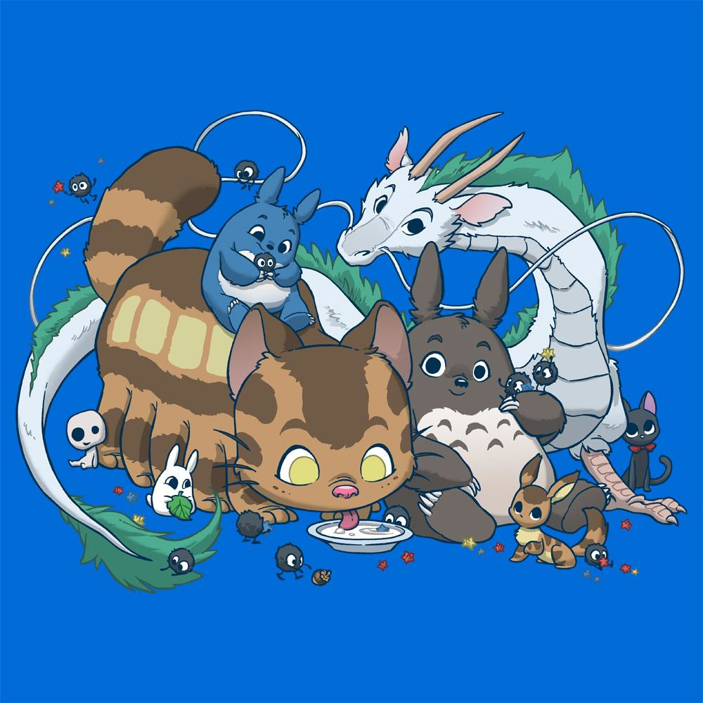 Feline Shirts: Spirited Friends