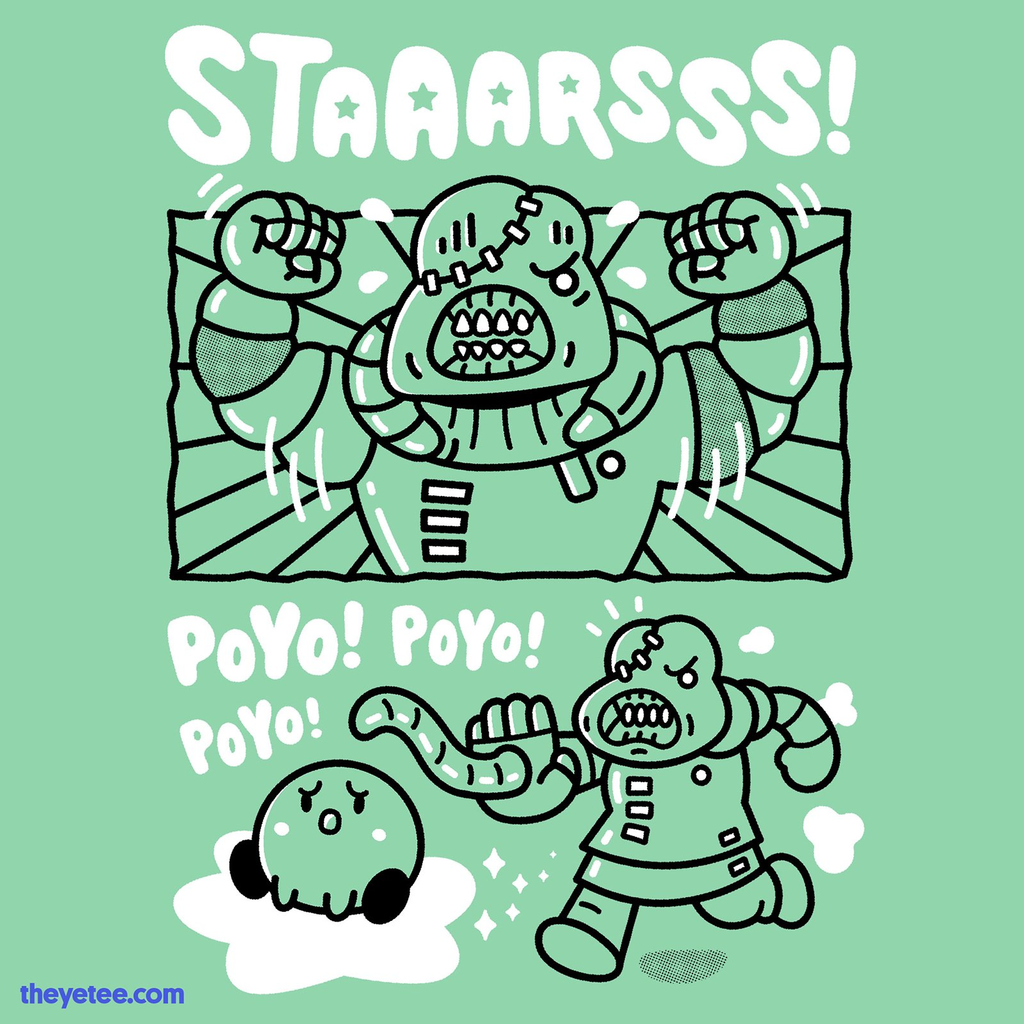 The Yetee: Staaarsss! Green version