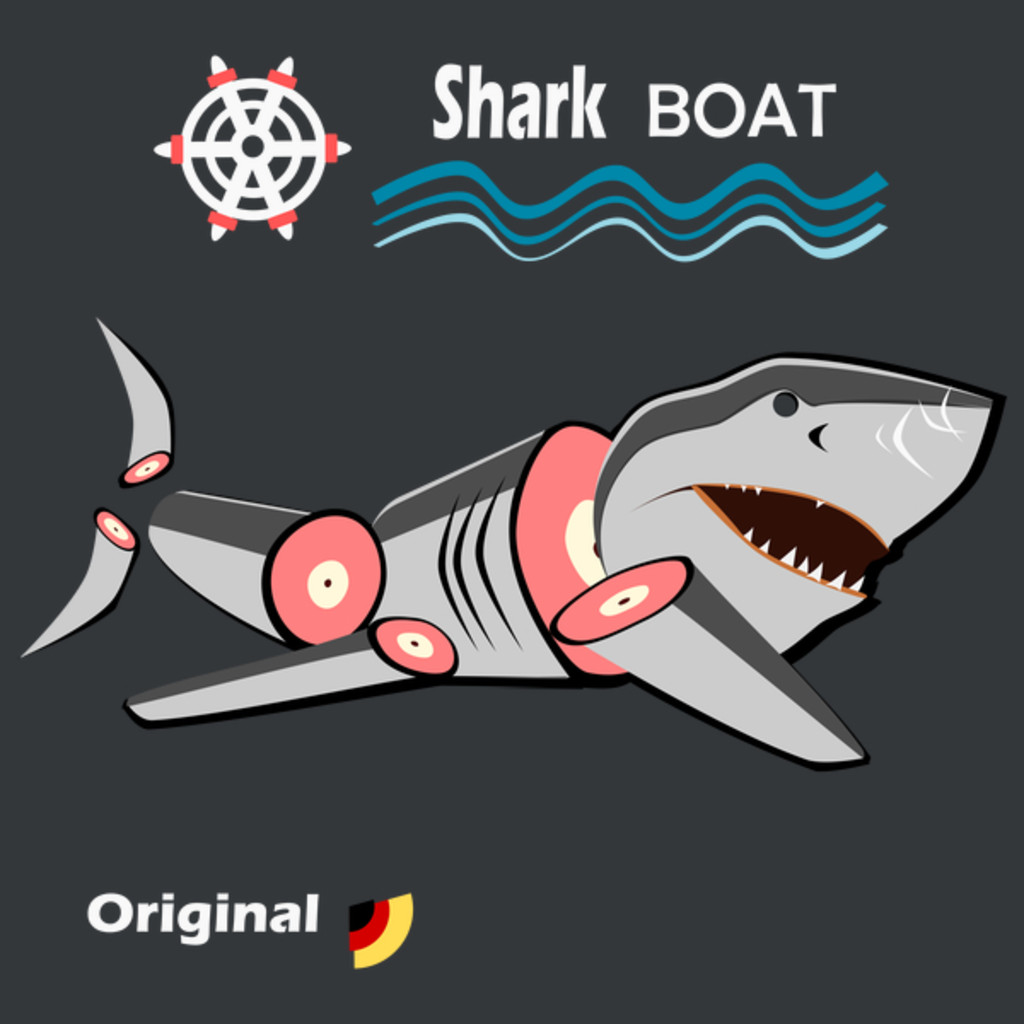 NeatoShop: Shark Boat