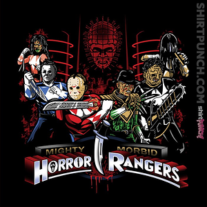 ShirtPunch: Mighty Morbid Horror Rangers