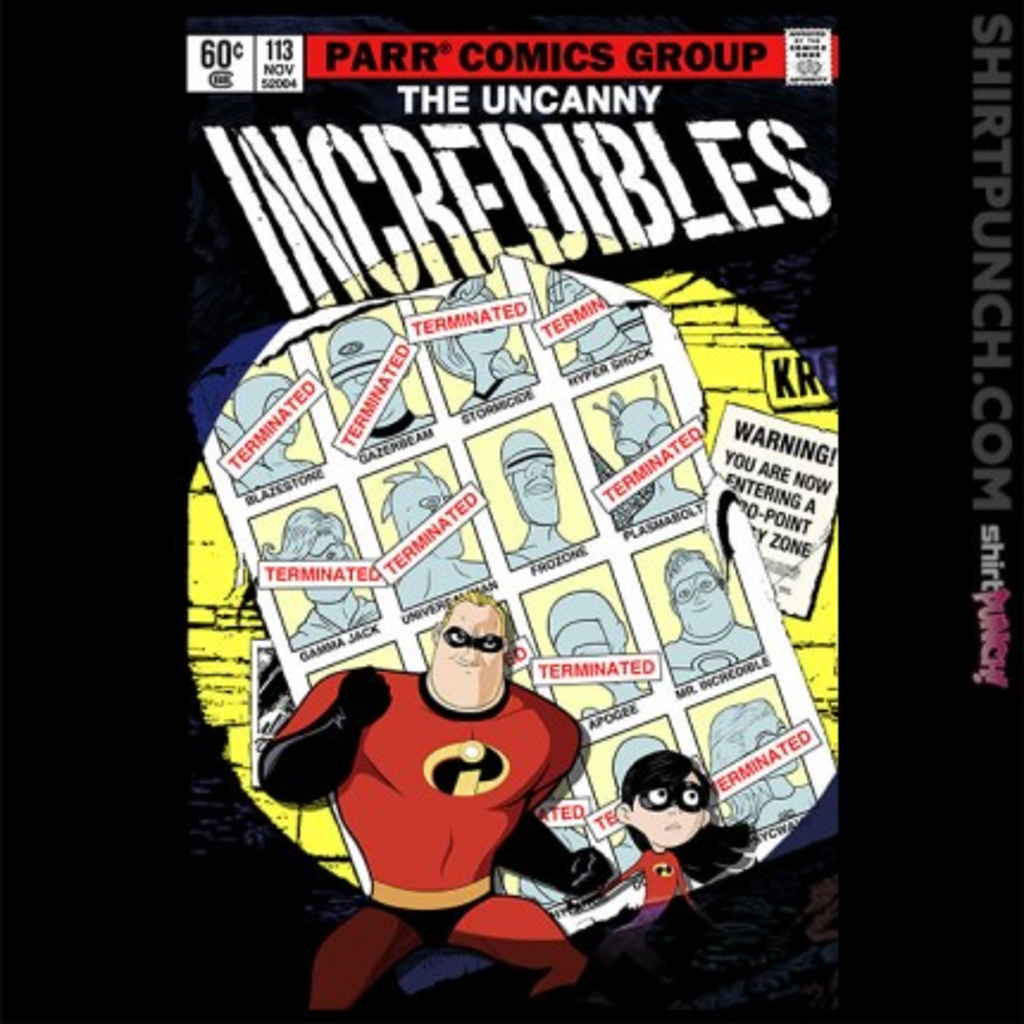 ShirtPunch: The Uncanny Incredibles