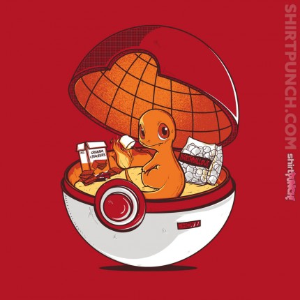 ShirtPunch: Red Pokehouse