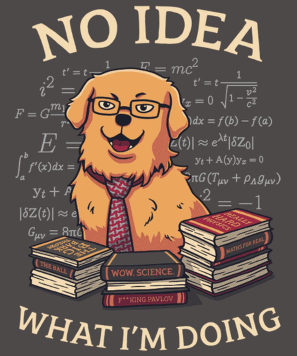 Qwertee: No Idea
