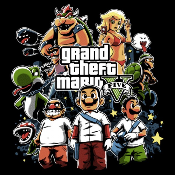 TeeVolt: Grand Theft Mario