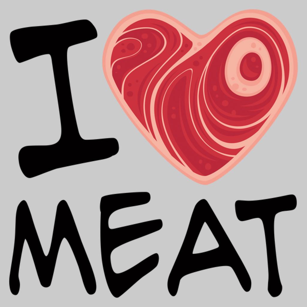 NeatoShop: I Love Meat